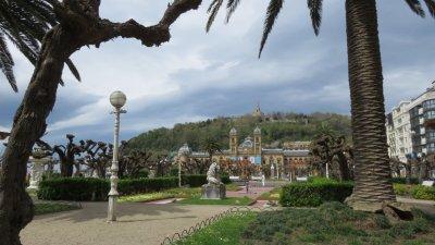 St Sébastien - les jardins d'Alderdi Eder