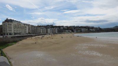 La plage de St Sébastien