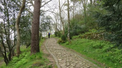 St Sébastien - Montée du Mont Urgull