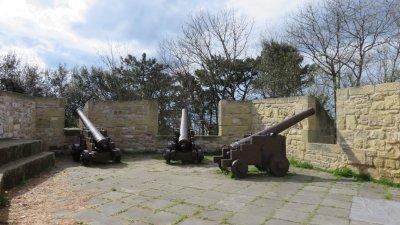 St Sébastien - La forteresse du château Santa Cruz de le Mota