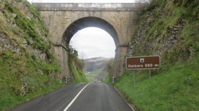 entre St Sébastien et Tolosa