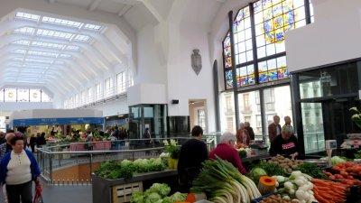 Bilbao - Le marché couvert de la Ribera