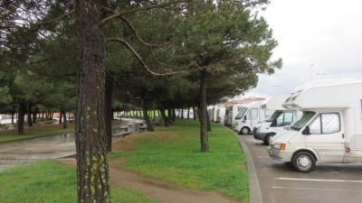 Gijon - Aire de camping-car