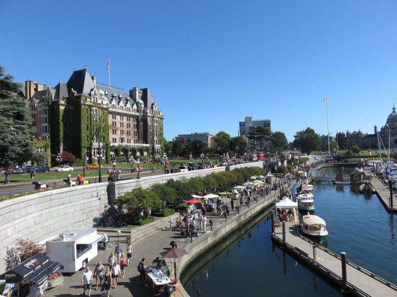 Victoria (île de Vancouver)-Canada