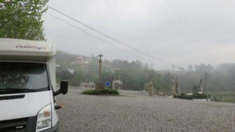 Aire de camping-car près de Mondim de Basto