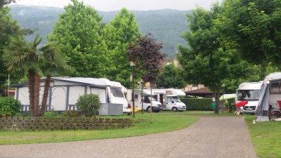 Au camping Parisi de Baveno