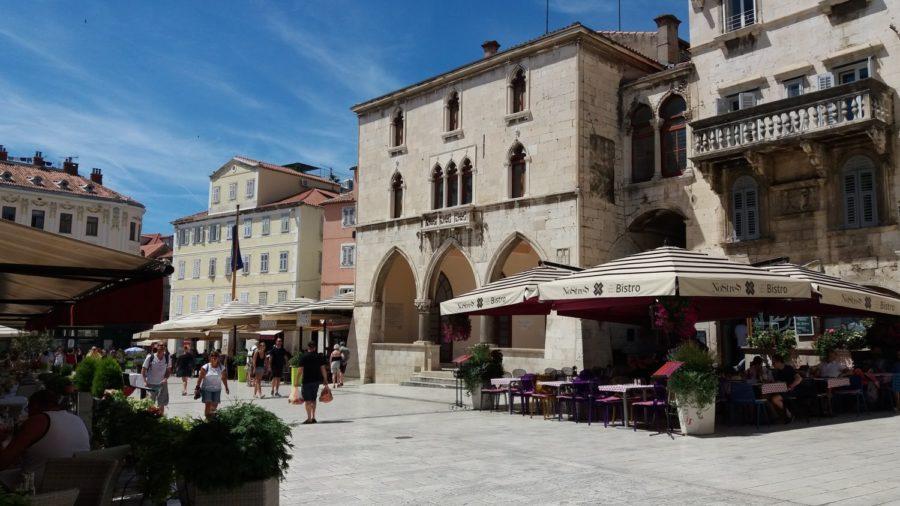 La place du Peuple (Narodni trg) - Split
