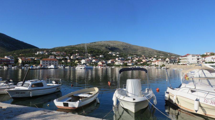 Le petit port de Seget Vranjica