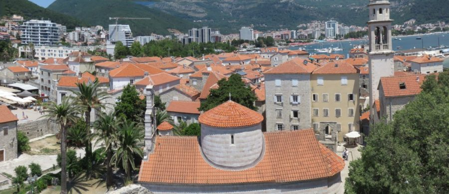 Vue sur Budva depuis la Citadelle - Monténégro