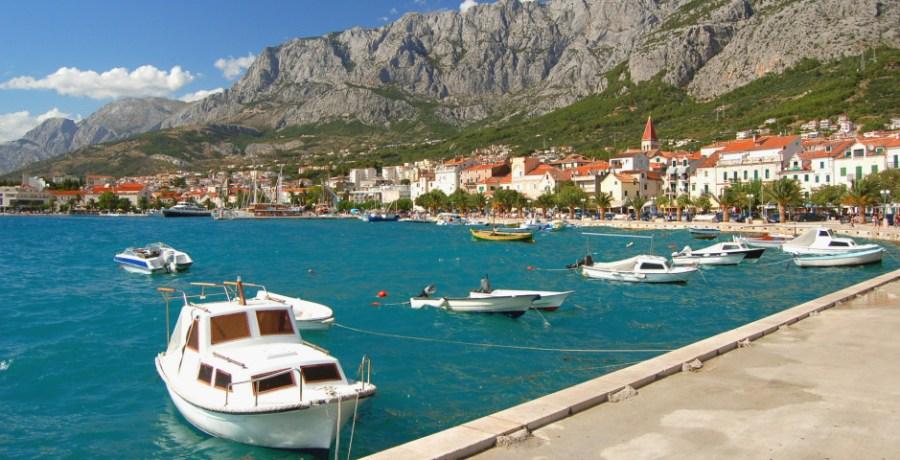 Makarska en Dalmatie - Croatie