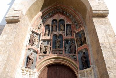L'entrée de l'église St Marc - Zagreb