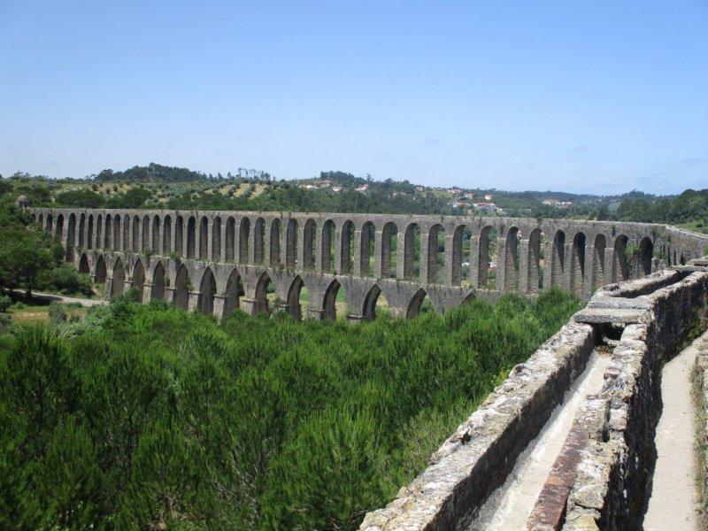 Aqueduc de Pegoes -Tomar