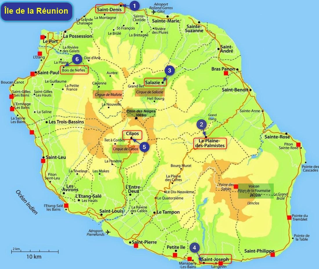31 10 2017 L Ile La Reunion Arrivee A St Denis Les Voyages De Myriam Et Luc