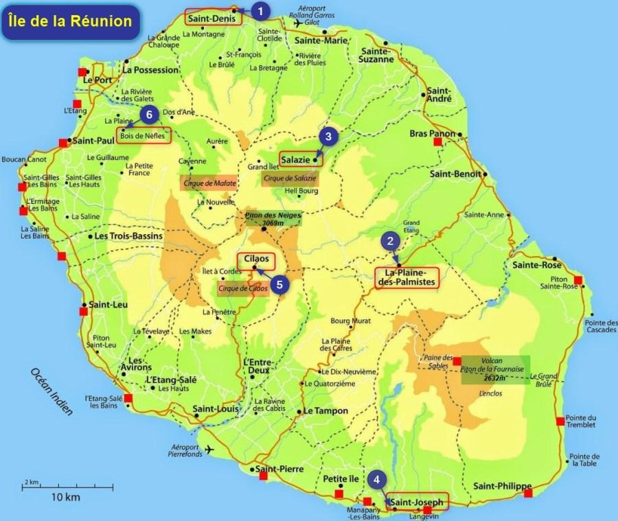 Notre circuit à La Réunion