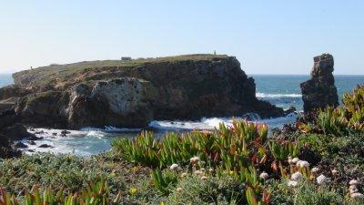 Les falaises de Peniche