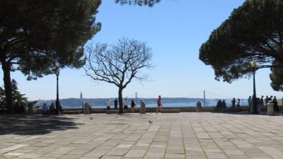 Vue de Lisbonne depuis le Castelo Sao Jorge