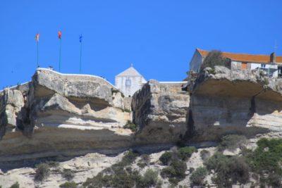 Vue sur Sitio depuis Nazaré