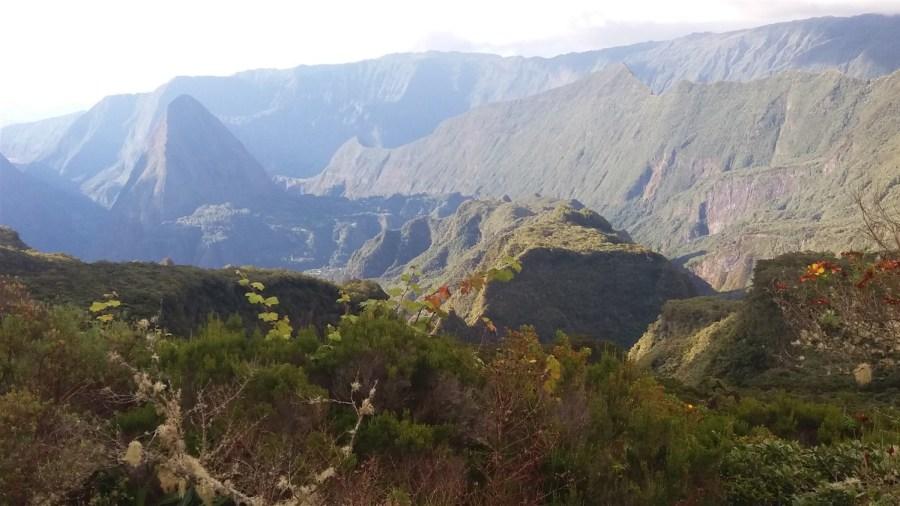 Vue depuis le col des boeufs - Salazie Mafate (Réunion)