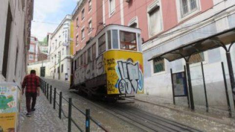 Lisbonne - Les fameux tramways