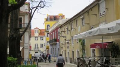 Lisbonne et ses rues colorées