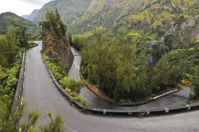La route de Cilaos - Réunion
