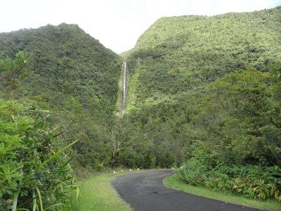 La route de Takamaka - Réunion