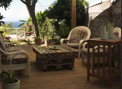 Maisonnette avec piscine - St Joseph (Réunion)