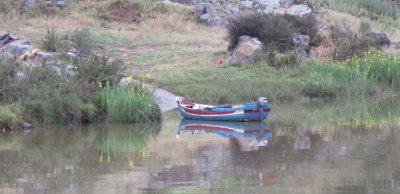 Barque sur le Guadiana
