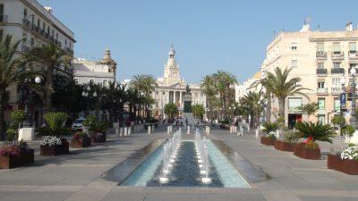 Cadix - Plaza de San Juan de Dios