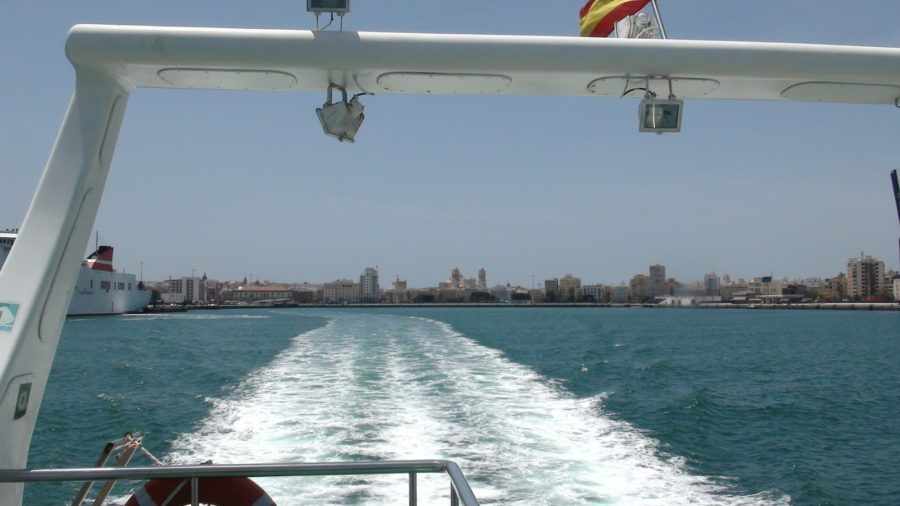 Nous quittons Cadix pour El Puerto de Santa Maria