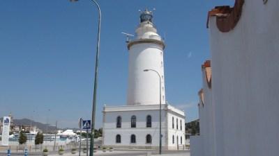Le phare de Malaga