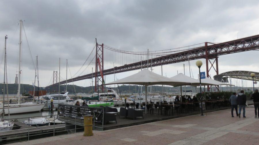 Les bords du Tage et le Pont du 25 Avril