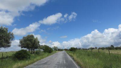 Sur la route entre Setubal et Evora