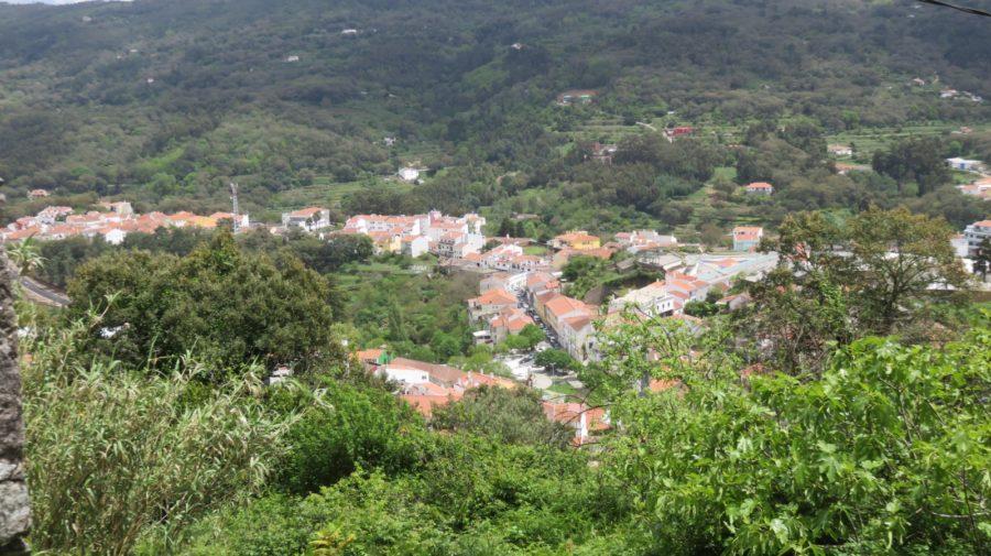 Vue sur Monchique depuis le couvent