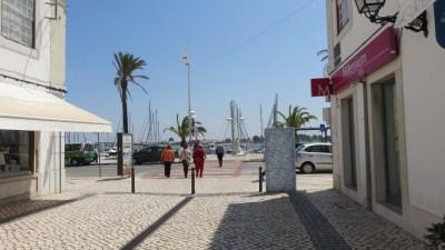 Les rues piétonnes de Vila Real de Santo Antonio