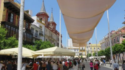 Dans les rues de Séville