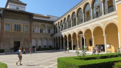Real Alcazar de Séville - Le patio de la Monteria