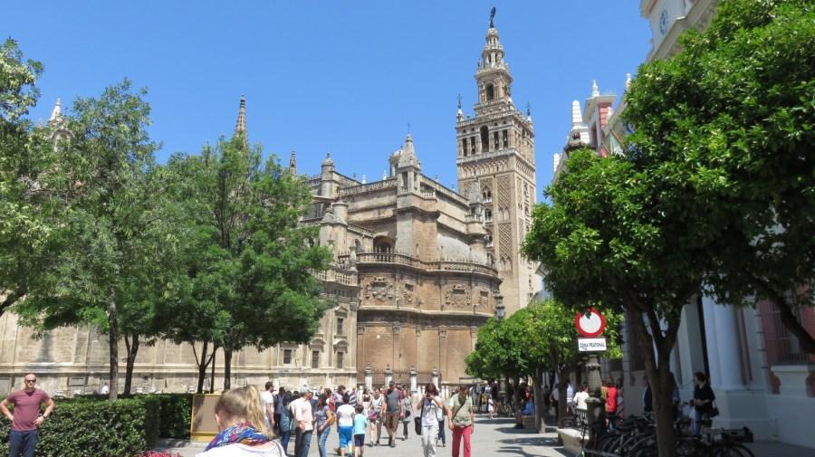 Séville - La Giralda et la cathédrale