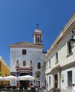 L'église paroissiale de Notre-Dame de l'O - Sanlucar de Barrameda