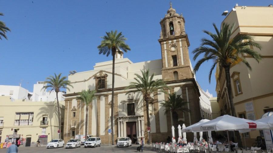 L'église de Santiago à Cadix