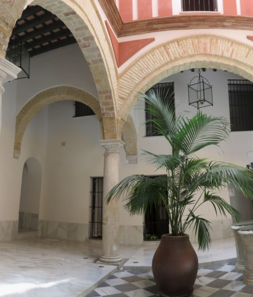 Belles arcades de Cadix