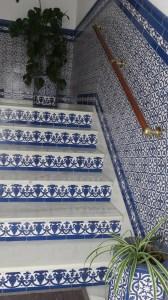 Escaliers en azulejos