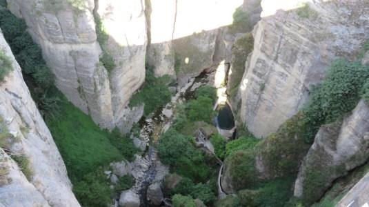 Vue depuis le Pont Nouveau de Ronda