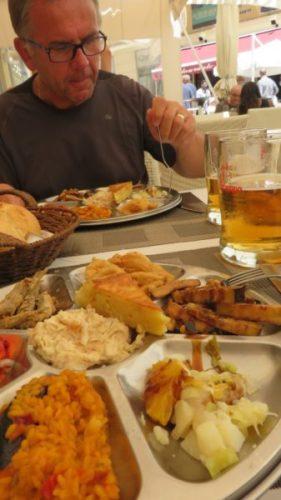 Repas de tapas - Malaga