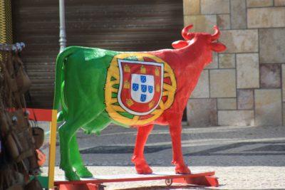 Un taureau portugais