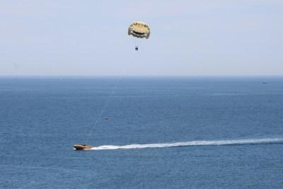 Albufeira - parachute ascencionnel