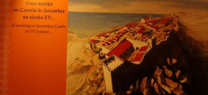 Le château de Sesimbra au 15ème siècle