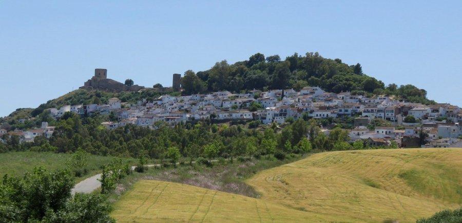 Le village blanc de Jimena de la Frontera