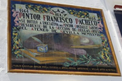 Belles faïences sur les murs des rues de Sanlucar de Barrameda