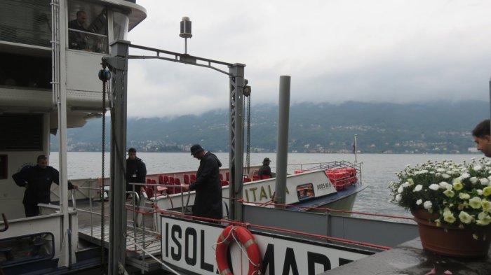 L'embarcadère d'Isola Madre